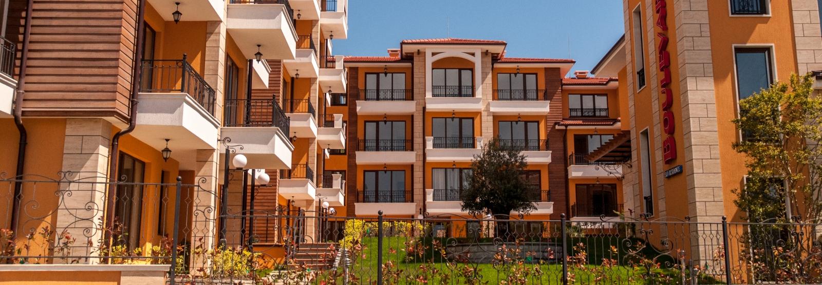 Boulevard Sea Residence квартиры в Болагарии